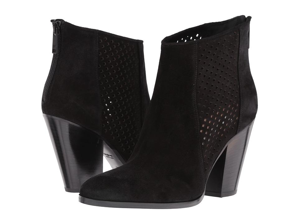 Diane von Furstenberg - Auletta (Black Sport Suede) Women's Shoes