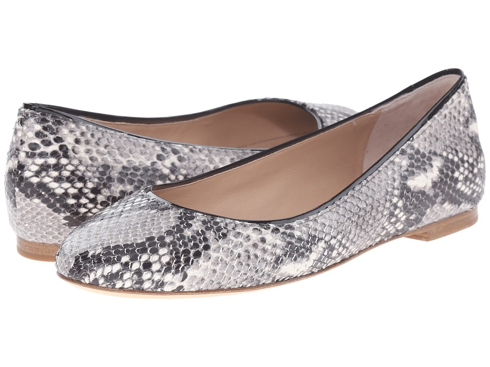Diane von Furstenberg - Cambridge (Natural Python Print Leather) Women's Sandals
