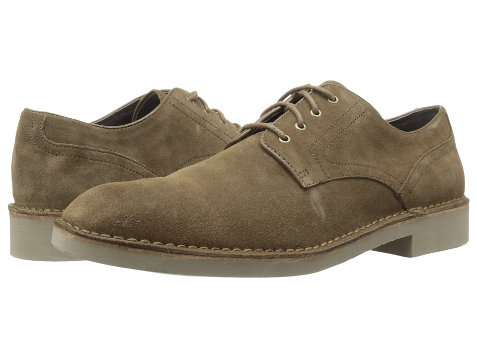John Varvatos - Star S Eva Derby (Clay Brown) Men's Shoes