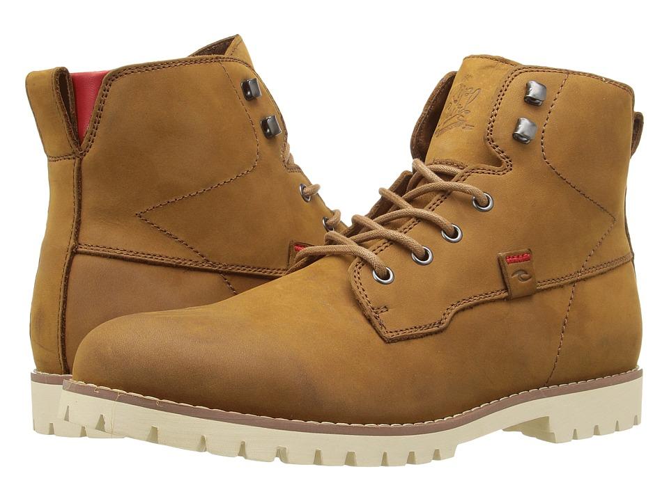 Rip Curl - 003 (Cognac) Men's Lace-up Boots