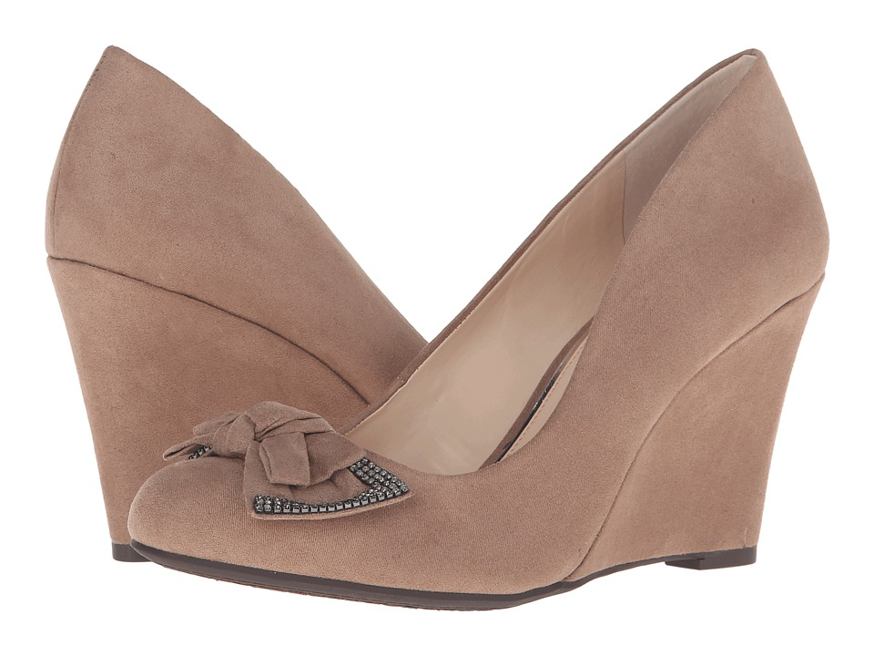 Jessica Simpson Cariah (Totally Taupe) Women's Wedge Shoes