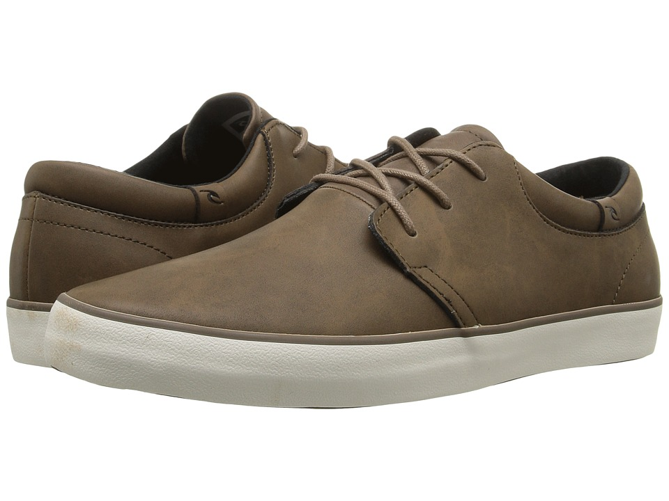 Rip Curl - Patrol L (Chocolate Coated Leather) Men's Lace up casual Shoes