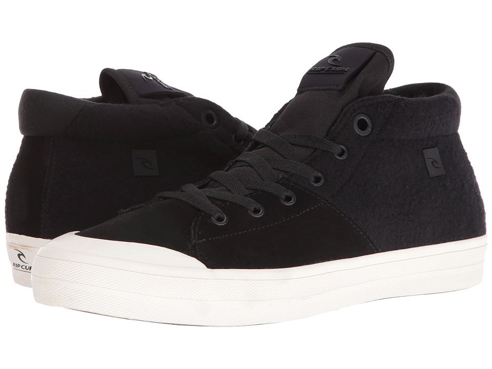 Rip Curl Slash L (Black Suede/Felt) Men's Lace up casual Shoes