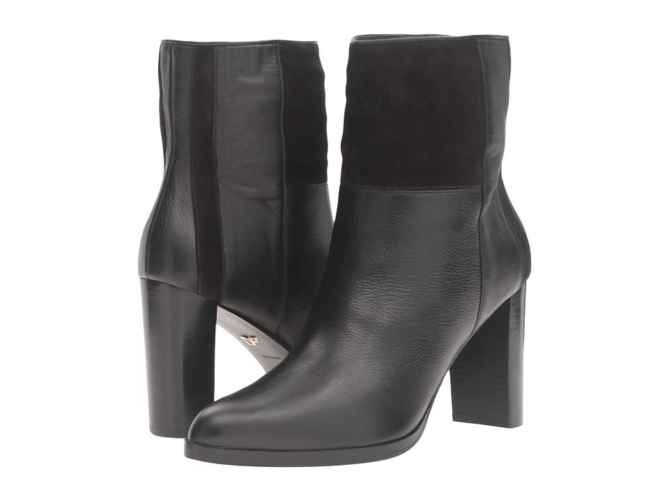 Diane von Furstenberg - Jericho (Black Leather) Women's Shoes