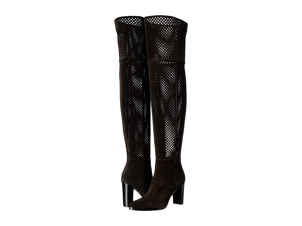 Diane von Furstenberg - Jolet (Black Sport Suede) Women's Shoes