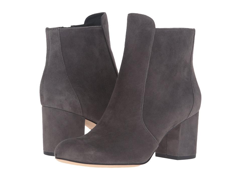 Diane von Furstenberg - Lari (Dark Slate Kid Suede) Women's Shoes