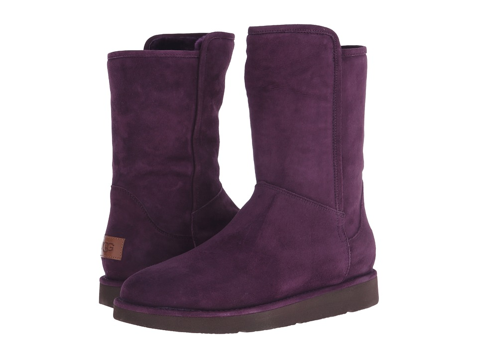 UGG - Abree Short (Aubergine) Women's Boots