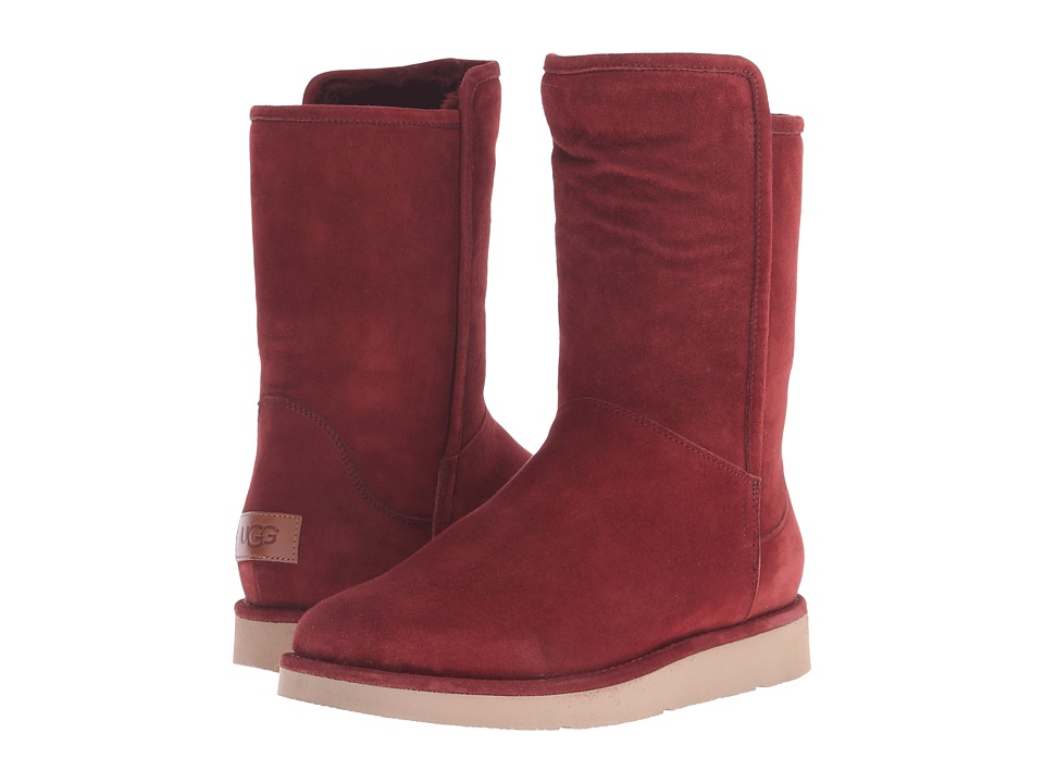 UGG - Abree Short (Rust) Women's Boots