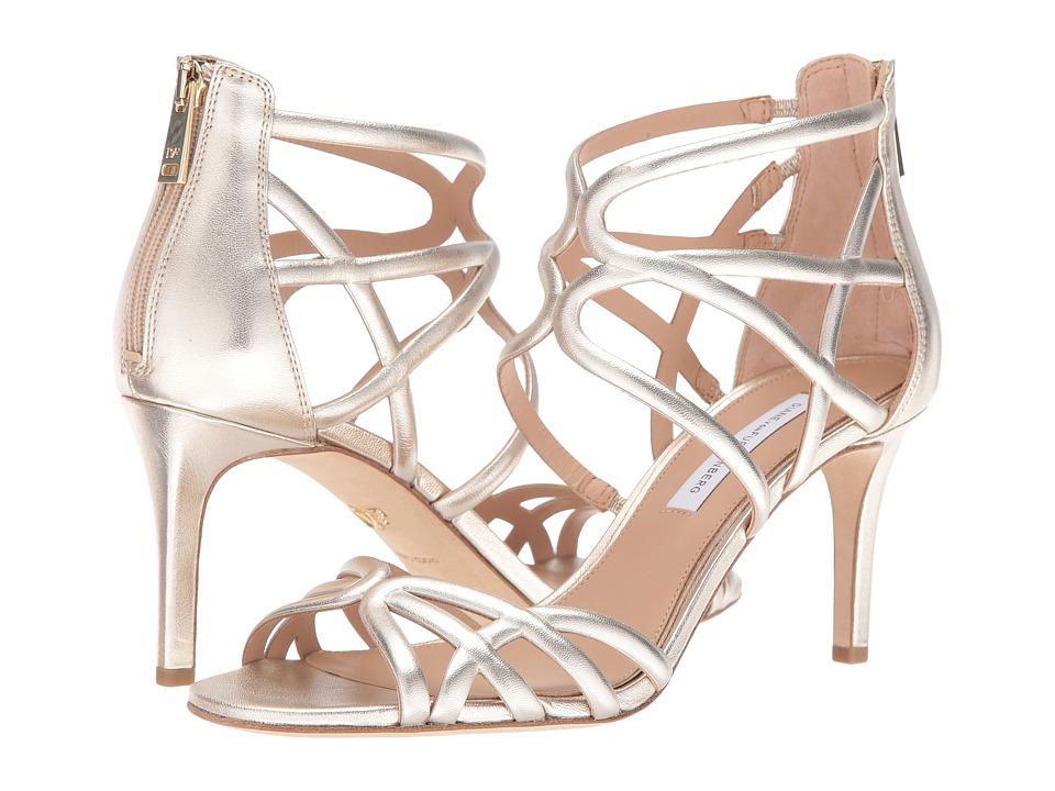 Diane von Furstenberg - Rao (Gold Metallic Tumbled Leather) Women's Shoes