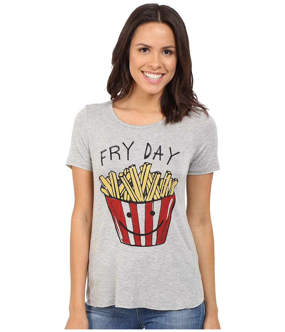 Culture Phit Fryday Short Sleeve T-Shirt (Heather Grey) Women