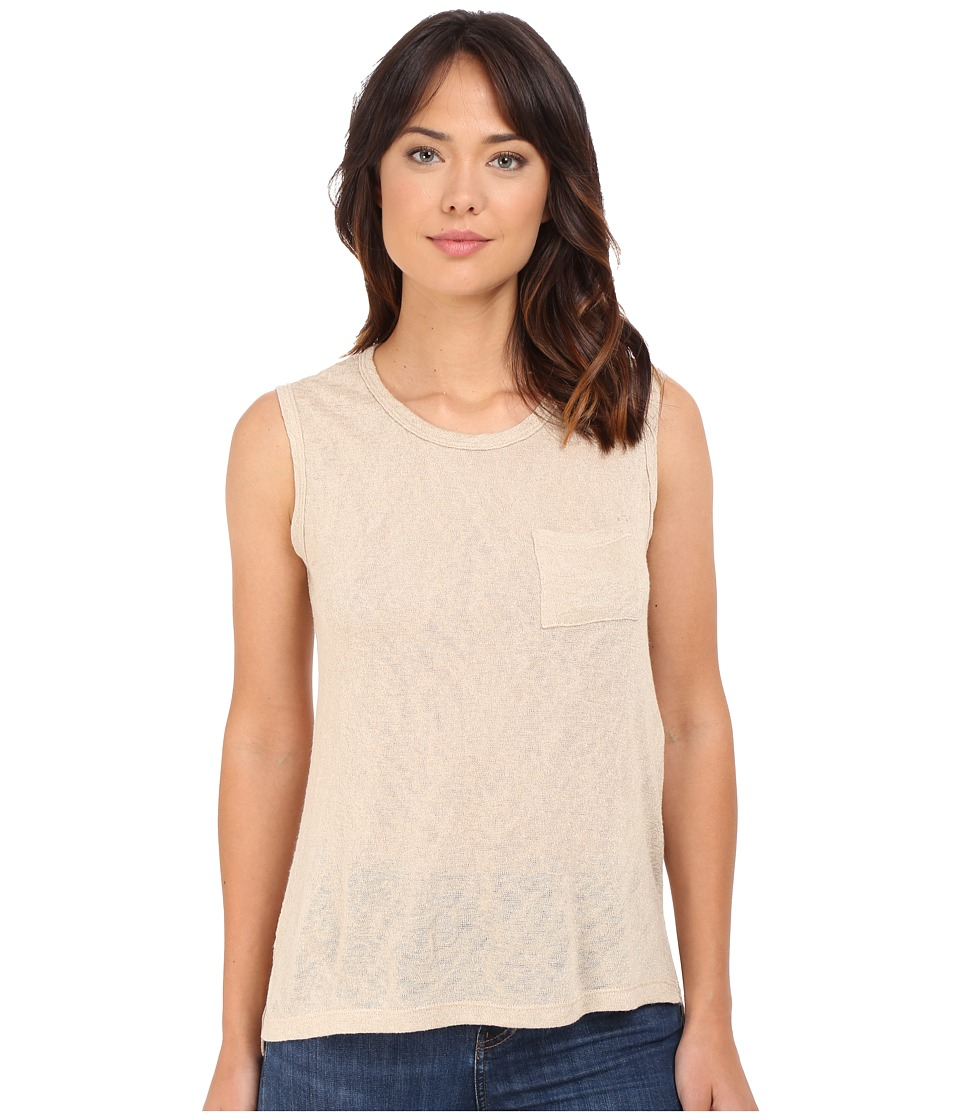 Culture Phit Maika Muscle Tee (Taupe) Women