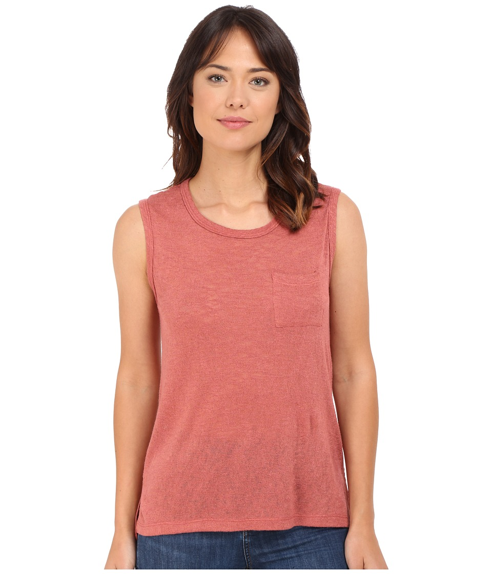 Culture Phit Maika Muscle Tee (Maroon) Women