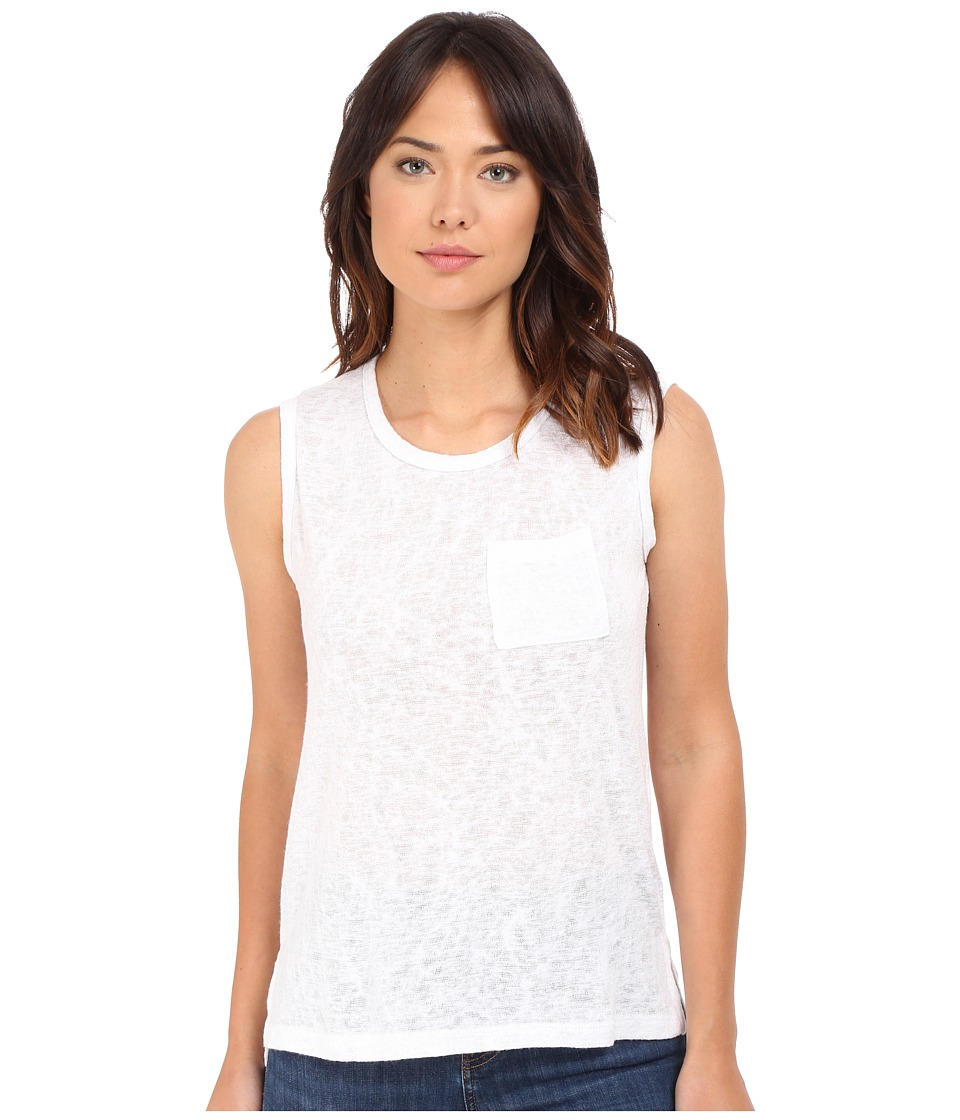 Culture Phit Maika Muscle Tee (White) Women