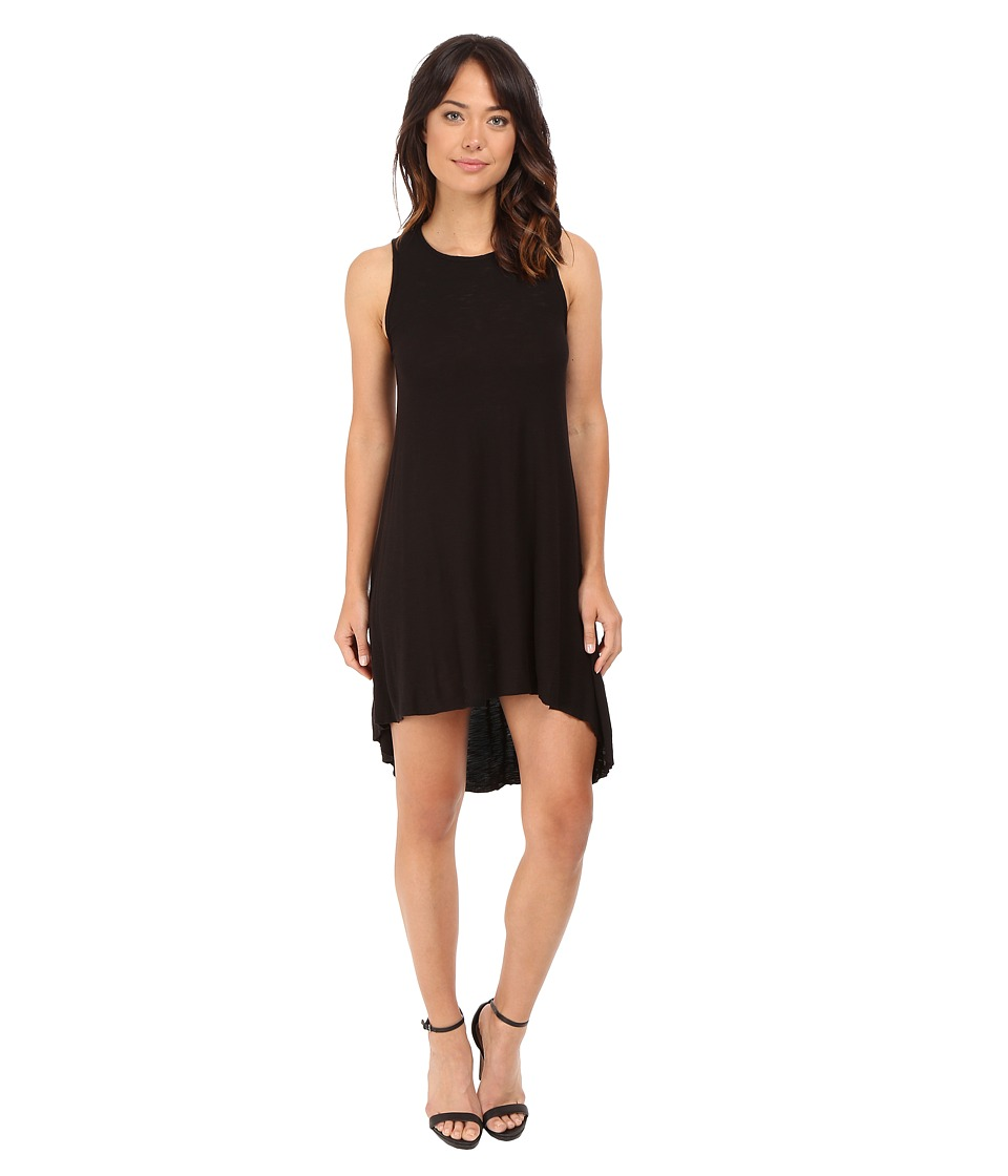 Culture Phit - Maeva High-Low Tank Dress (Black) Women's Dress
