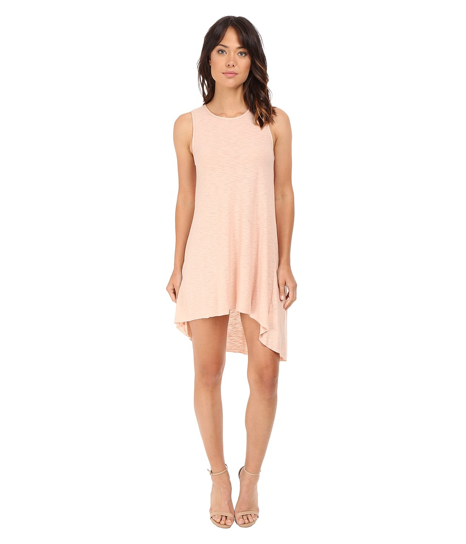 Culture Phit - Maeva High-Low Tank Dress (Peach) Women's Dress