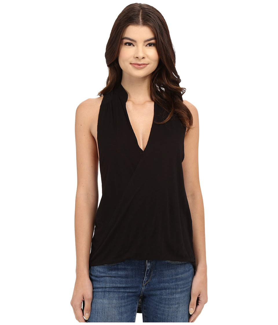 Culture Phit - Maelie Collared Top (Black) Women's Clothing