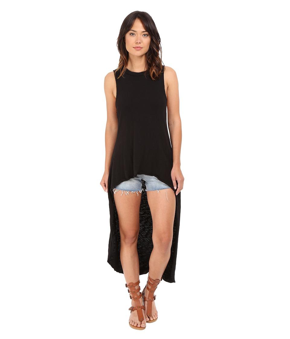 Culture Phit - Anais High-Low Tank Top (Black) Women's Sleeveless