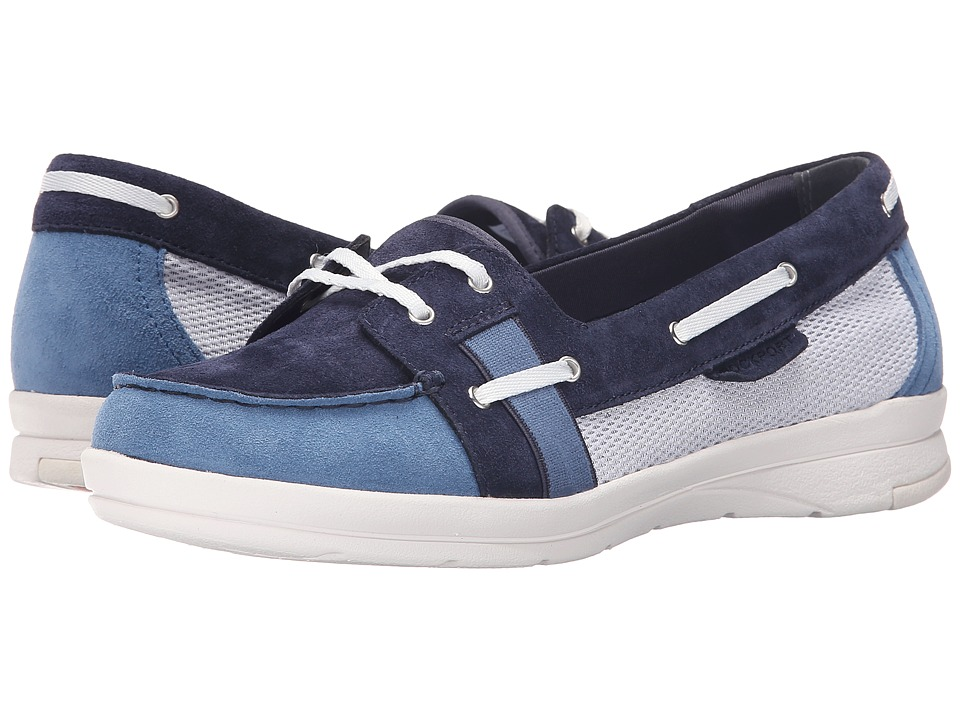Rockport - Rocsports Lite Boat Ballet (Deep Ocean/Dusty Blue Washable) Women's Shoes