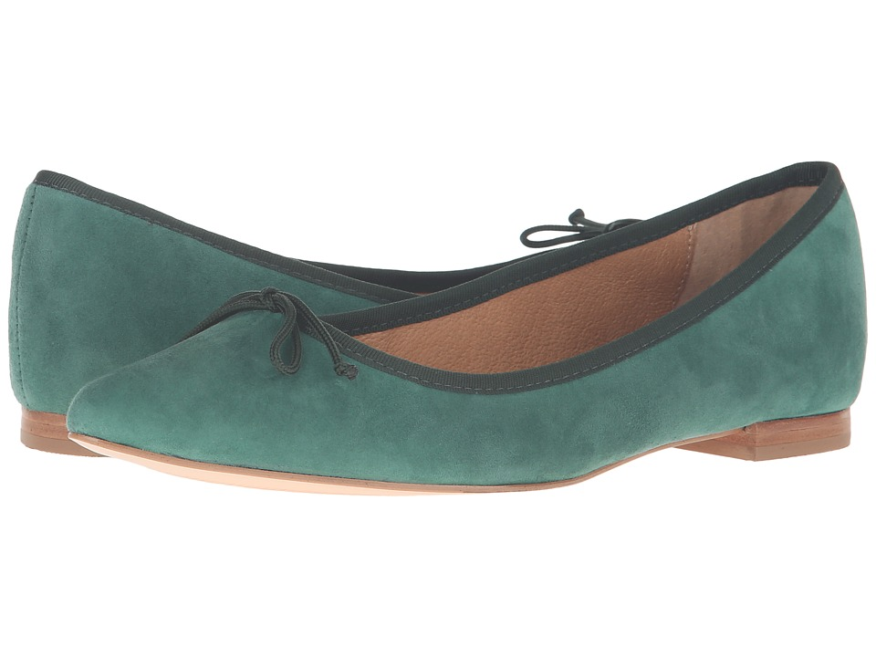 Corso Como - Recital (Dark Green Suede) Women's Shoes