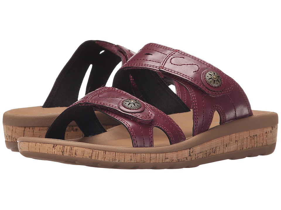 Rockport - Weekend Casuals Keona 2 Band Slide (Boysenberry) Women's Shoes