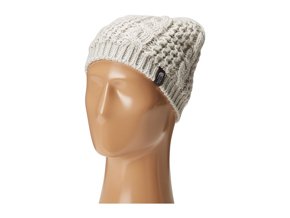 The North Face - Cable Minna Beanie (Lunar Ice Grey) Beanies