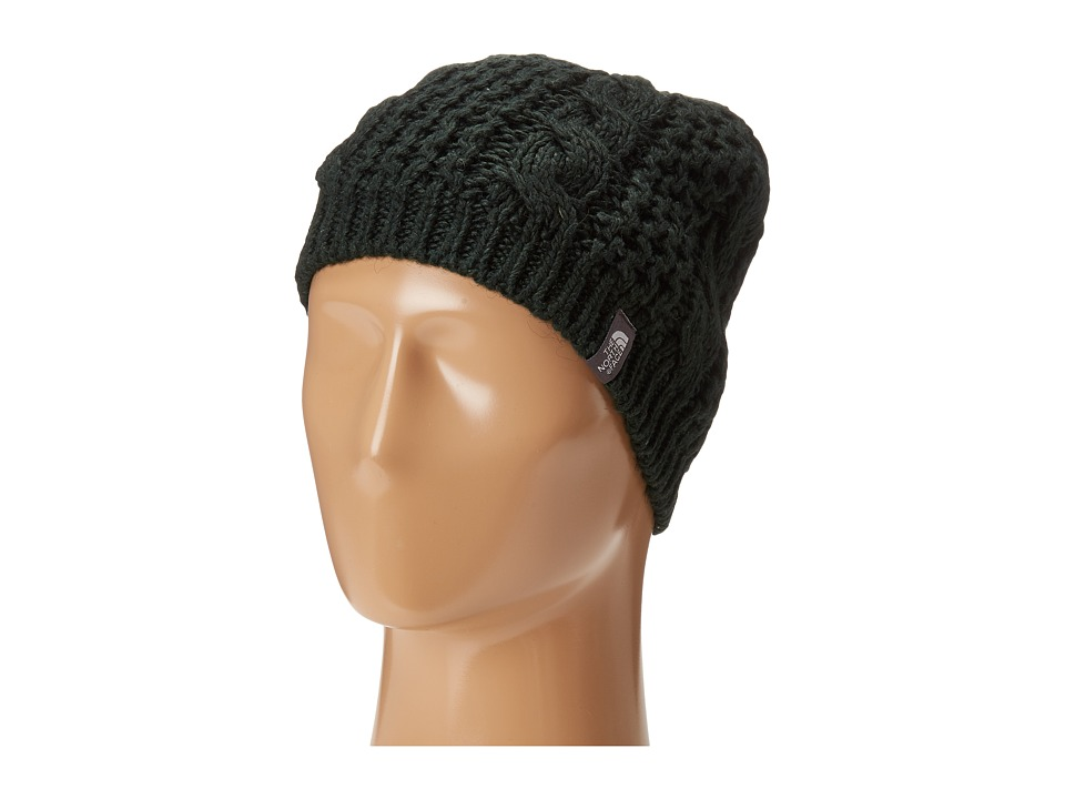 The North Face - Cable Minna Beanie (Scarab Green) Beanies