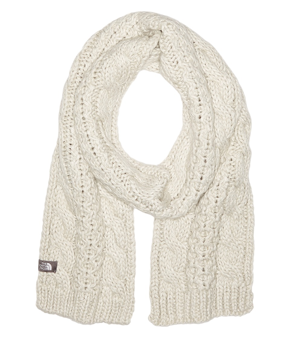 The North Face - Cable Minna Scarf (Lunar Ice Grey) Scarves