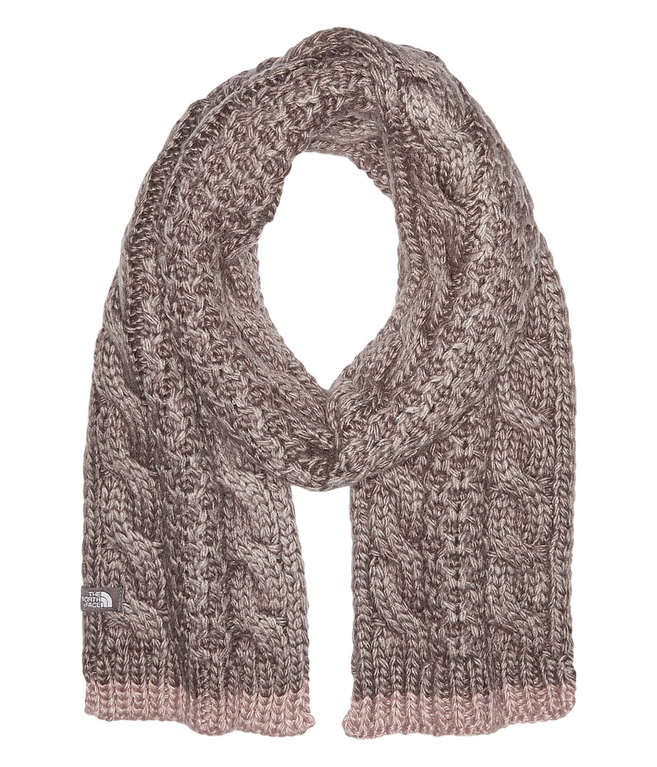 The North Face - Cable Minna Scarf (Rabbit Grey) Scarves