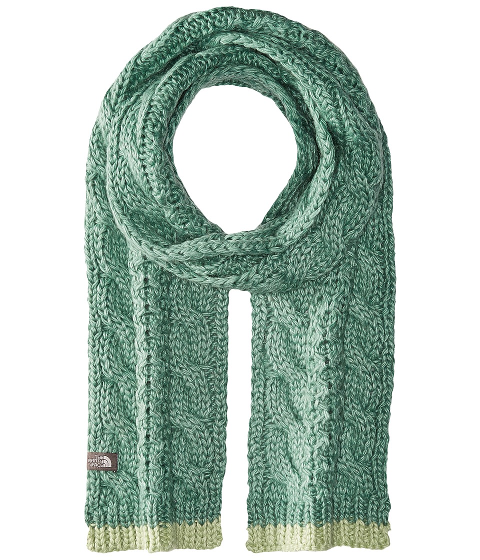 The North Face - Cable Minna Scarf (Deep Sea) Scarves