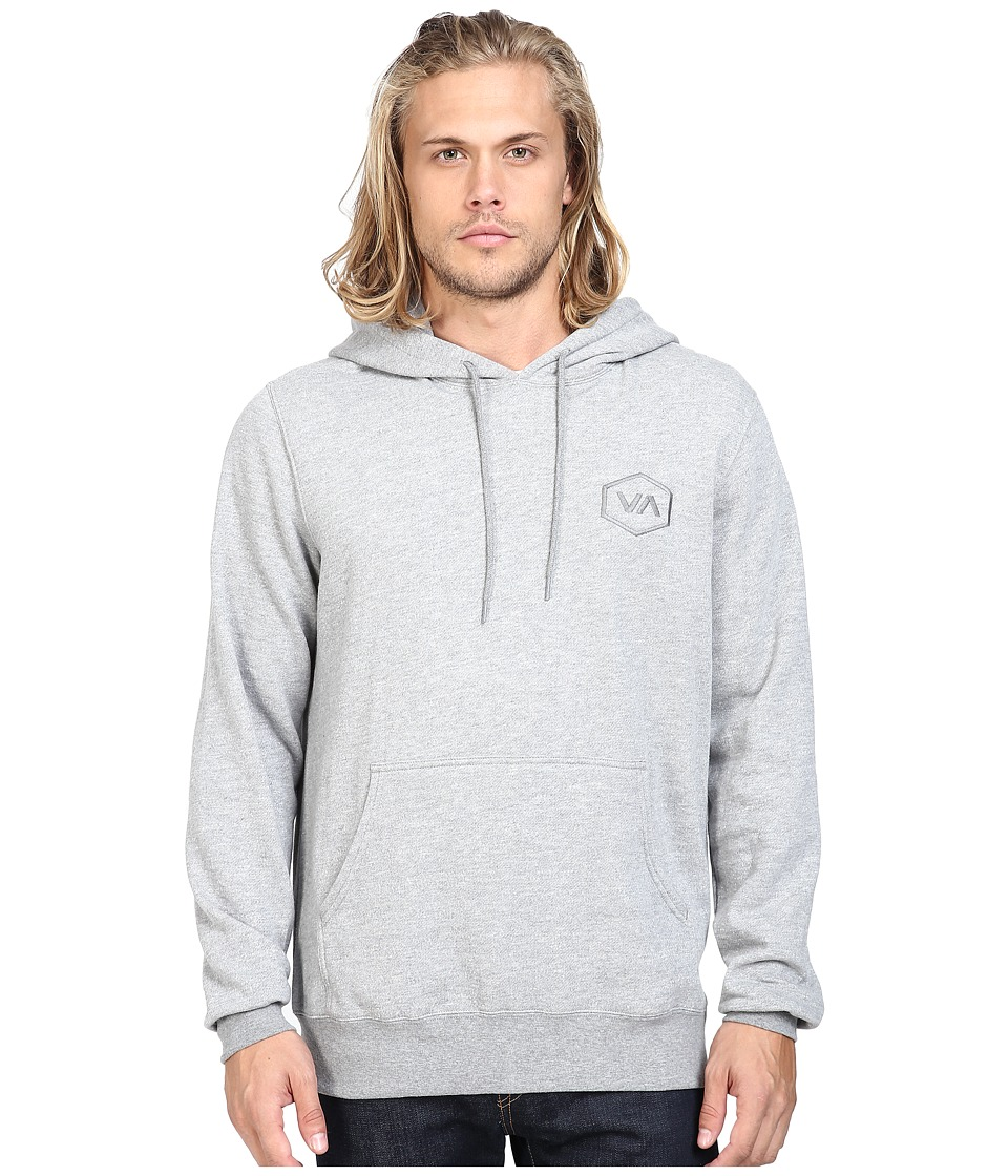 RVCA - Hex VA Fleece (Grey Noise) Men's Fleece