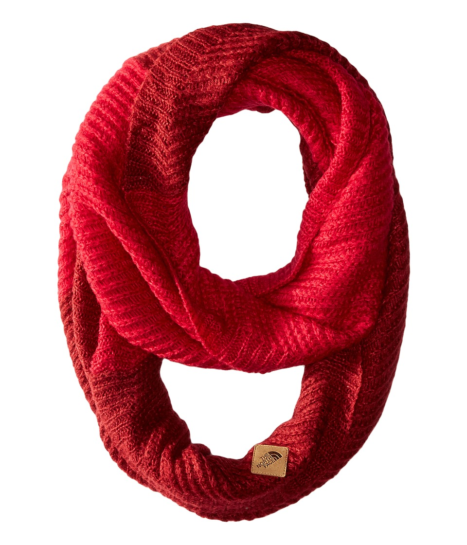 The North Face - Hudson Scarf (Biking Red/Cerise Pink) Scarves