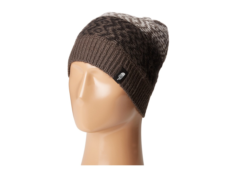The North Face - Tribe N True Beanie (Graphite Grey/TNF Black) Beanies