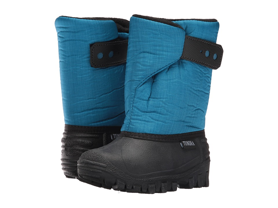 Tundra Boots Kids - Teddy (Toddler/Little Kid) (Emerald) Kids Shoes