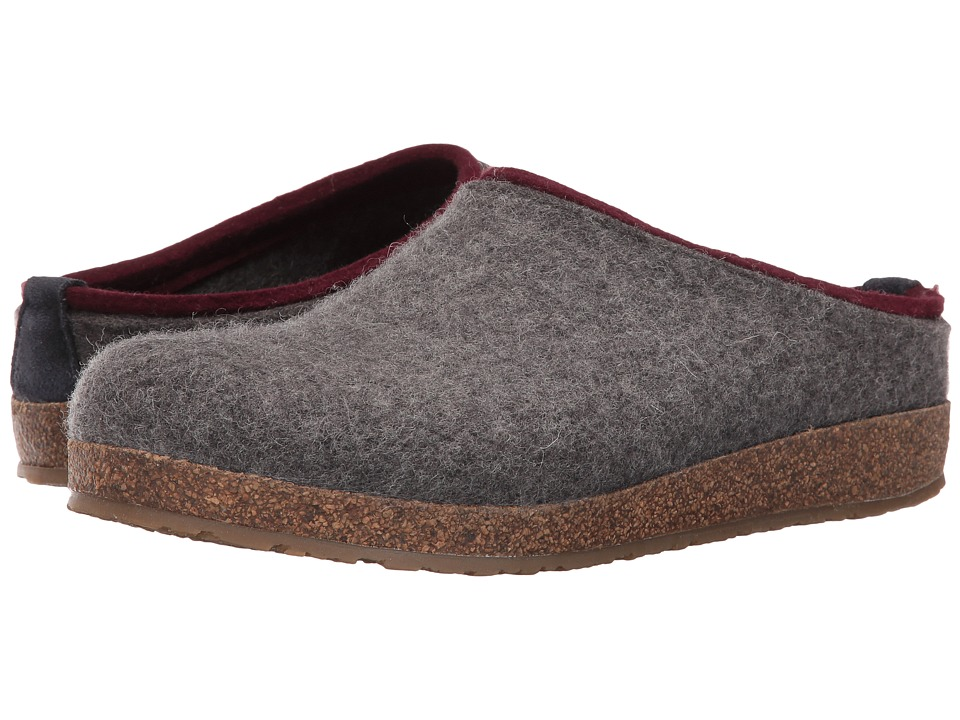 Haflinger Kris (Grey) Clog Shoes