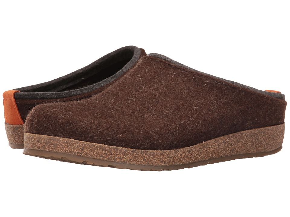 Haflinger - Kris (Chocolate) Clog Shoes