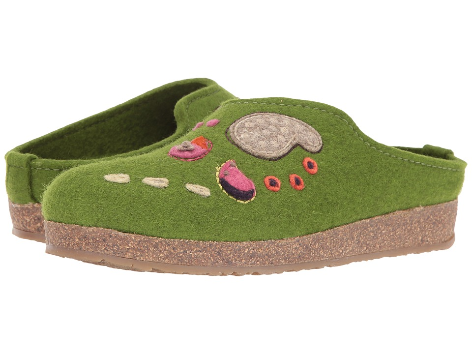 Haflinger - Paisley (Green) Women's Slippers