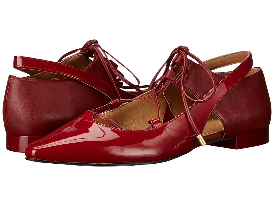 Calvin Klein Evalyn (Garnet Patent/Leather) Women