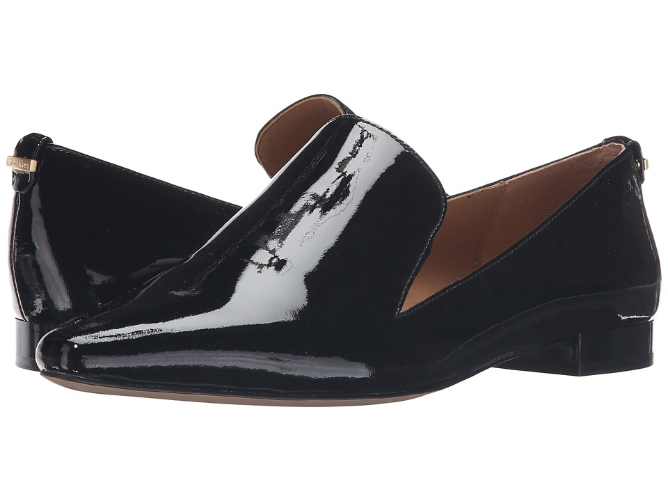 Calvin Klein - Elin (Black Patent) Women's Shoes