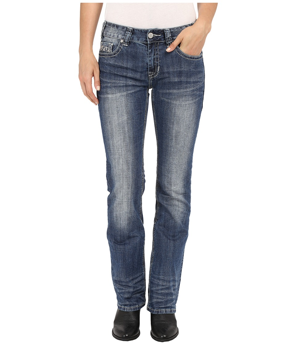 Rock and Roll Cowgirl - Mid-Rise Bootcut in Medium Vintage W1-7367 (Medium Vintage) Women's Jeans