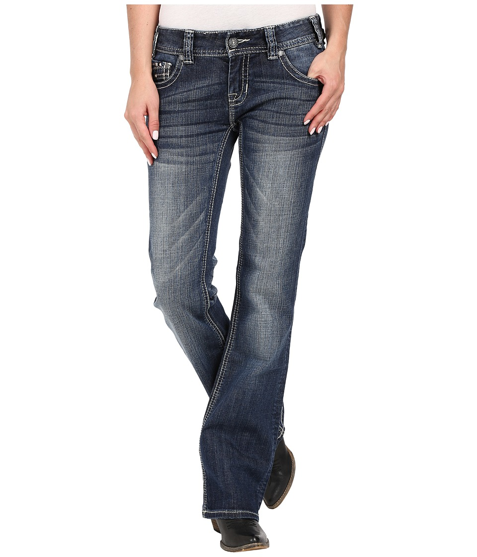 Rock and Roll Cowgirl - Low Rise Bootcut in Medium Vintage W0-7361 (Medium Vintage) Women's Jeans