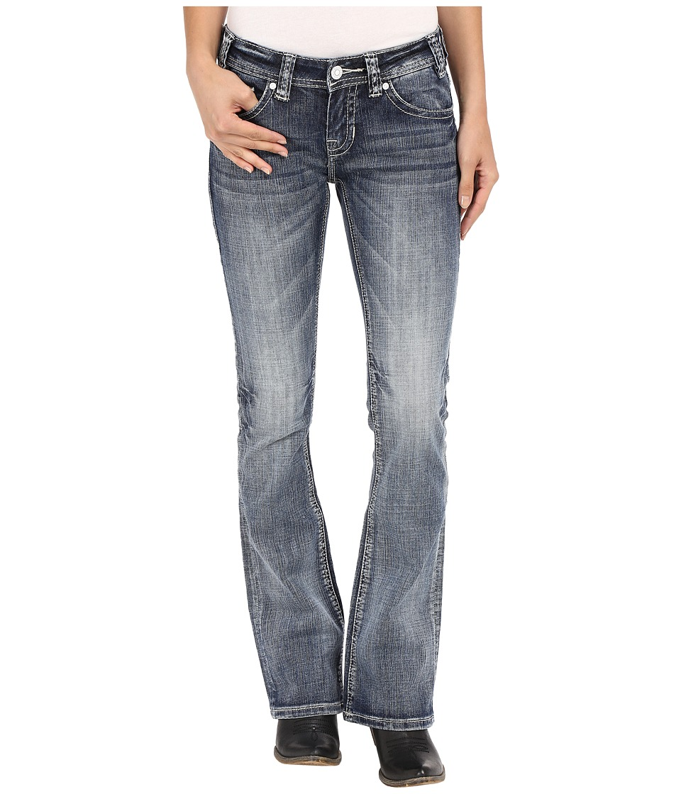 Rock and Roll Cowgirl - Rival Bootcut in Light Vintage W6-7363 (Light Vintage) Women's Jeans