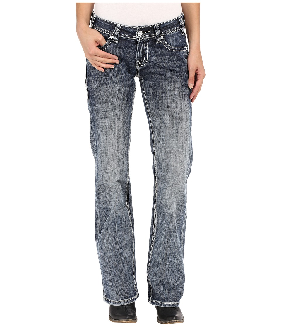 Rock and Roll Cowgirl - Riding Bootcut in Light Vintage W7-7369 (Light Vintage) Women's Jeans