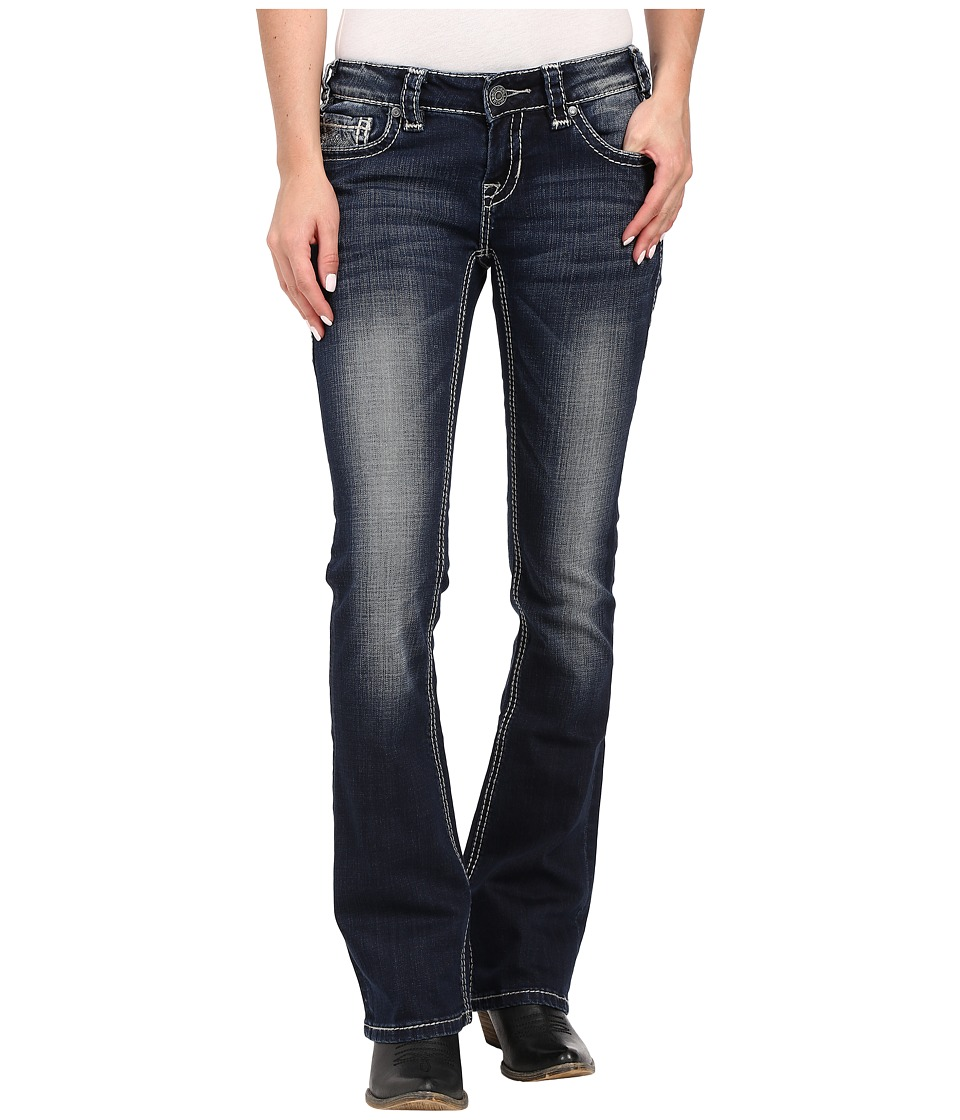 Rock and Roll Cowgirl - Rival Bootcut in Dark Vintage W6-6422 (Dark Vintage) Women's Jeans
