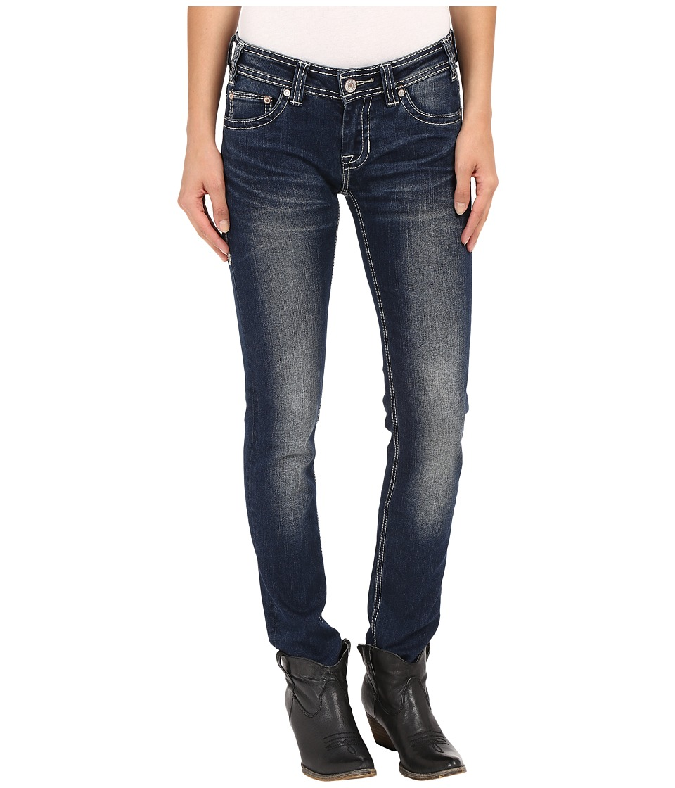 Rock and Roll Cowgirl - Low Rise Skinny in Dark Vintage W0S7385 (Dark Vintage) Women's Jeans