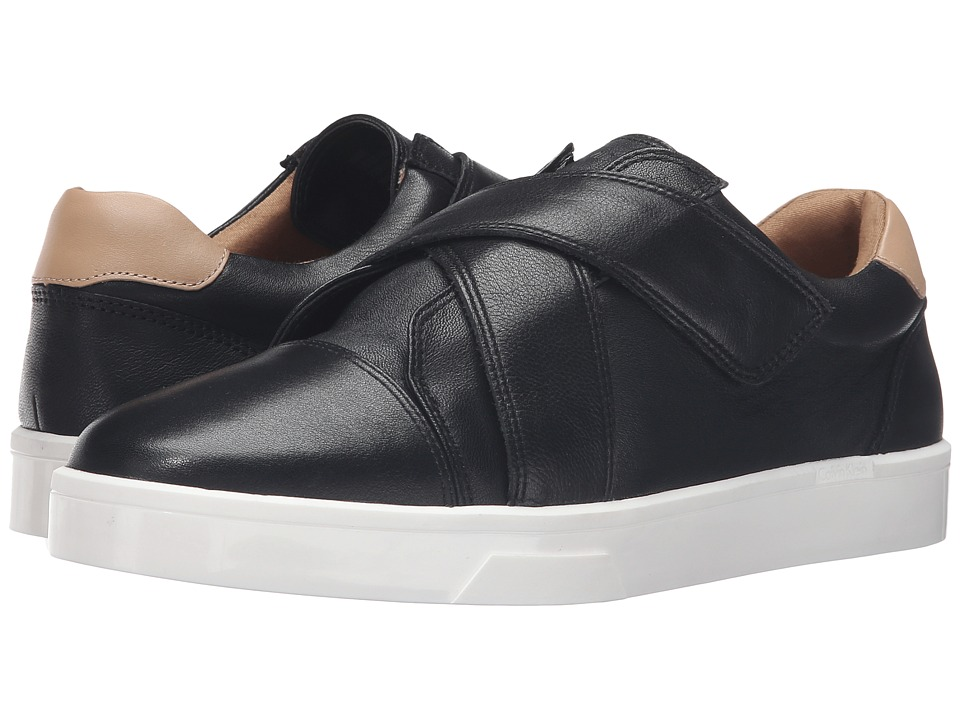Calvin Klein - Issie (Black/Sandstorm Leather) Women