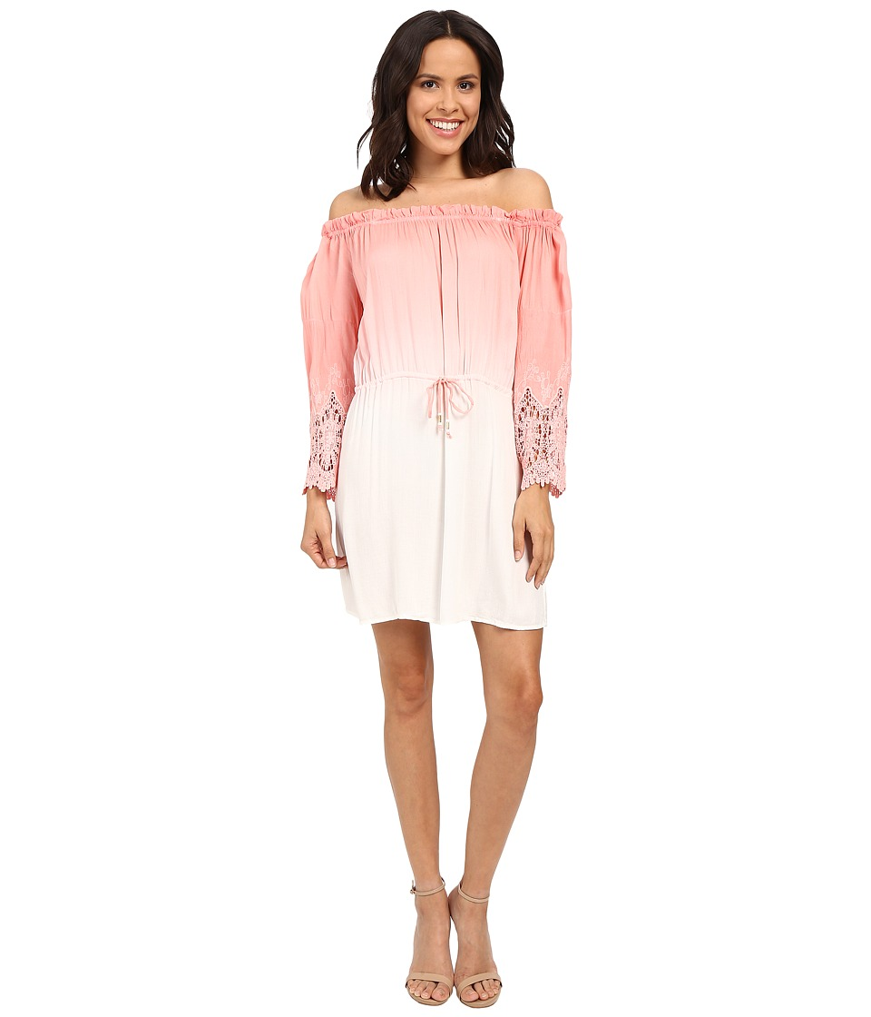 Young Fabulous & Broke - Nova Mini Dress (Melon Ombre) Women's Dress