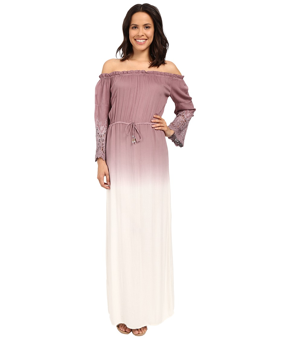 Young Fabulous & Broke - Nova Maxi (Mocha Ombre) Women's Dress