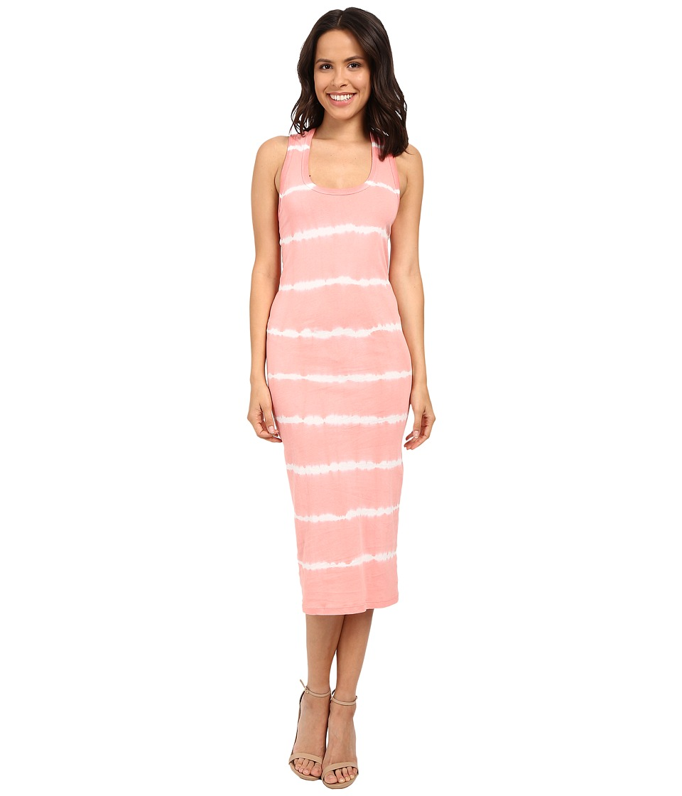 Young Fabulous & Broke - Denny Dress (Melon Skinny Stipe) Women's Dress