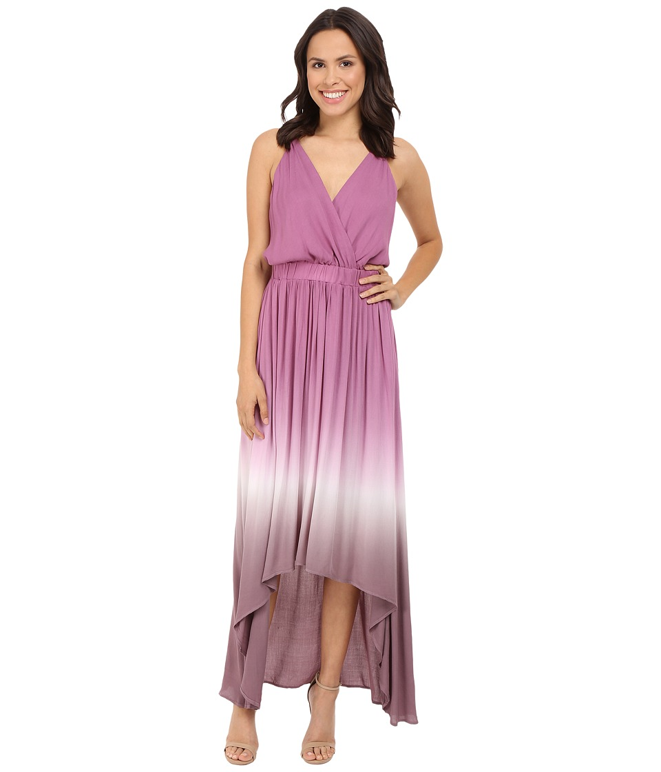 Young Fabulous & Broke - Evie Maxi (Wine Ombre) Women's Dress
