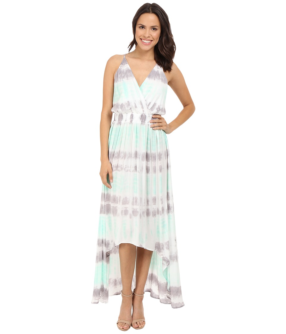Young Fabulous & Broke - Evie Maxi (Seafoam Bamboo Wash) Women's Dress